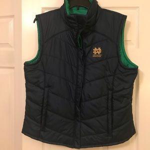 Columbia Notre Dame Reversible Vest